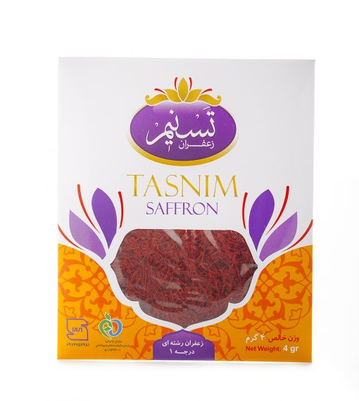 زعفران سرگل تسنیم در بسته بندی پاکتی ، در گروه باکیفیتترین انواع زعفران تولید شده در ایران است. زعفران سرگل پاکتی، مناسب برای مصارف خانگی و صنعتی است.