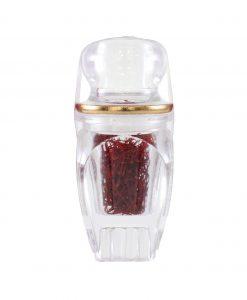 زعفران سرگل درجه یک تسنیم در طرح گوهر، بهترین انتخاب برای مصارف خانگی روزانه و یا هدیهای زیبا و ارزنده برای نزدیکان شماست.