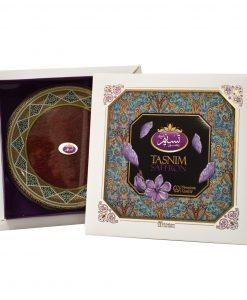 زعفران نگین تسنیم طرح نفیس ، با قدرت رنگی بالاتر از زعفران سرگل، انتخابی جذاب و با کیفیت برای شما و یا هدیه به عزیزانتان است.